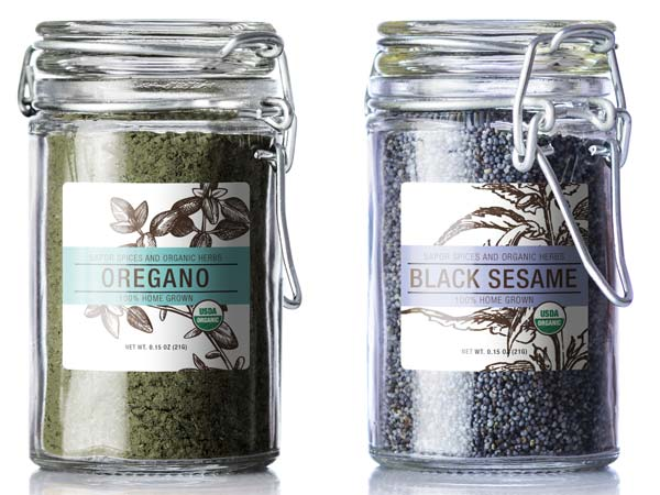 Spices, Chilli and Herb Labels
